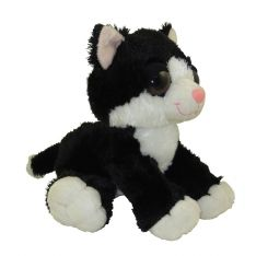 Aurora World Plush - Dreamy Eyes - CLARENCE the Black & White Cat (10 inch)
