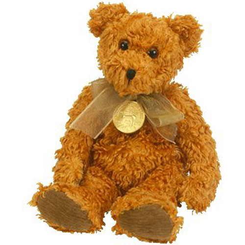TY Beanie Baby - TEDDY the Bear (100th Anniversary Teddy) (8.5 inch)   BBToyStore.com - Toys ae98545993bf