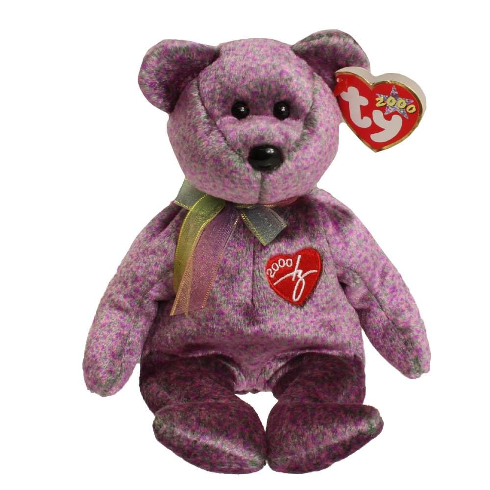 TY Beanie Baby - 2000 SIGNATURE BEAR (8.5 inch)  BBToyStore.com - Toys eed803a06c5