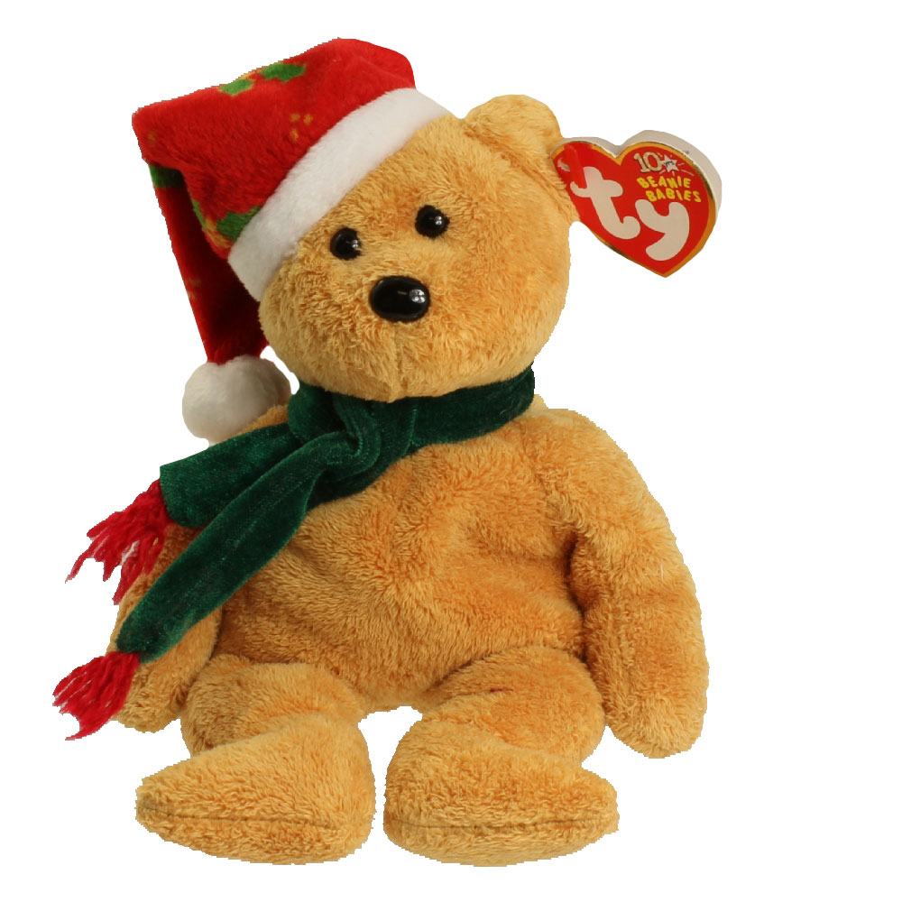Ty Beanie Baby 2003 Holiday Teddy 9 Inch Bbtoystore