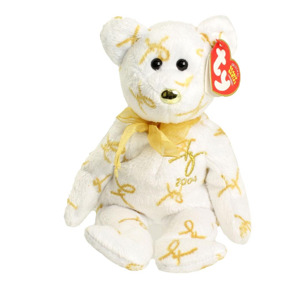 Ty Beanie Baby 2004 Signature Bear 8 5 Inch