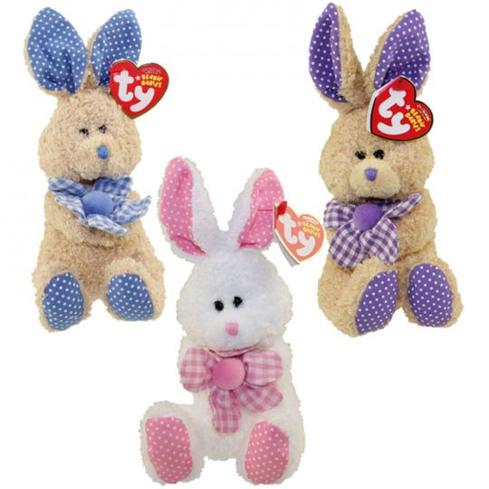 c77c183a4fc TY Beanie Babies - HALLMARK EXCLUSIVE BUNNIES (Set of 3 - Petunia ...