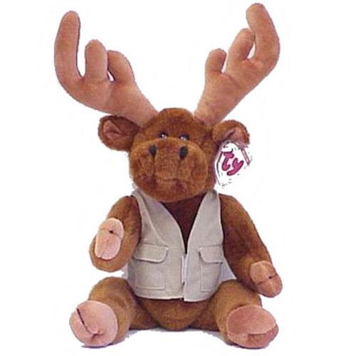 15 Inch The Montgomery Moose Ty Treasure Attic qtEwXY