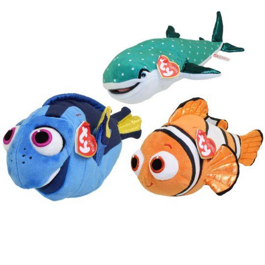 TY Beanie Babies - SET OF 3 (Nemo c678272c41c