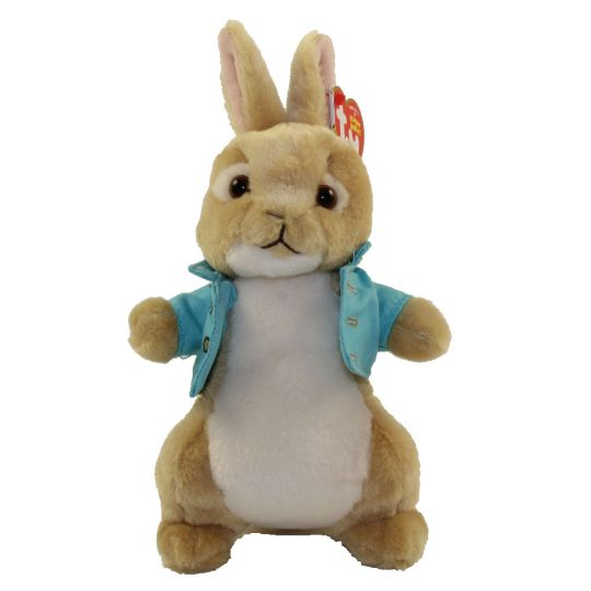 206f134366b TY Beanie Baby - COTTON TAIL (Peter Rabbit Movie) (6 inch)  BBToyStore.com  - Toys
