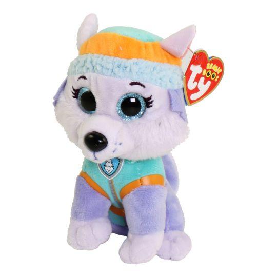 TY Beanie Baby - Paw Patrol - EVEREST (6 inch)  BBToyStore.com - Toys c28f085dca8