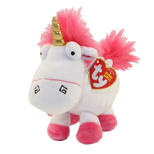 TY Beanie Baby - FLUFFY (Unicorn)(Despicable Me 3)  BBToyStore.com - Toys 6cd2e49d2b8