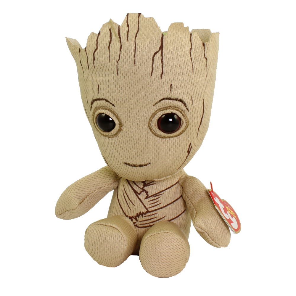56dea0ad8c7 TY Beanie Baby - GROOT (Marvel - Guardians of the Galaxy)  BBToyStore.com -  Toys
