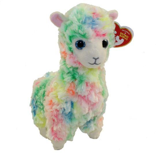 Ty Beanie Baby Lola The Rainbow Llama 6 Inch Bbtoystore Com