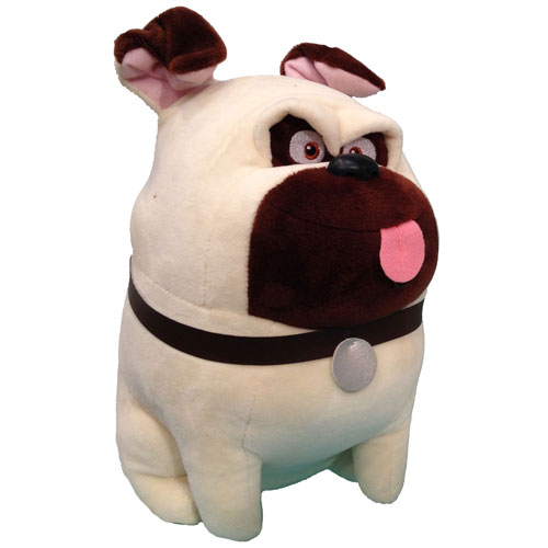 Ty Beanie Baby Mel The Pug Dog Secret Life Of Pets 6 Inch