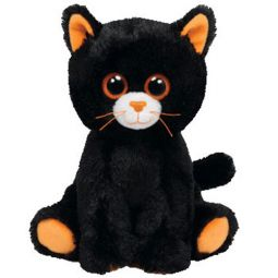 da5e06755b0 TY Beanie Baby - MERLIN the Black Cat (6.5 inch)