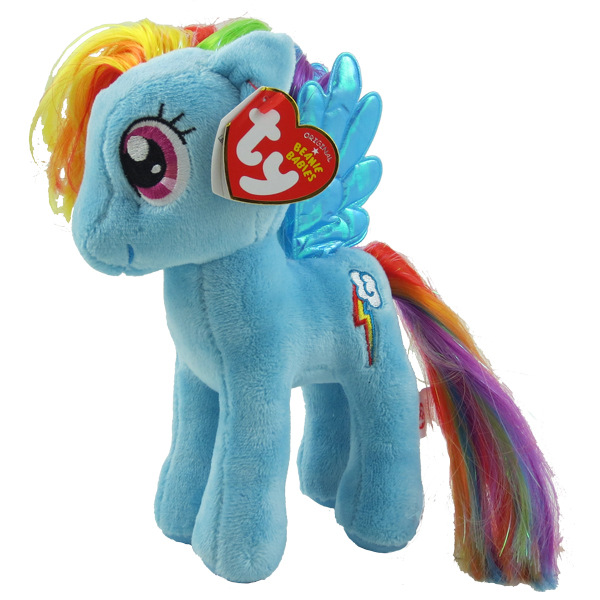 1ebb7de4aac Summary -  Amazoncom Ty Beanie Babies My Little Pony Rainbow Dash