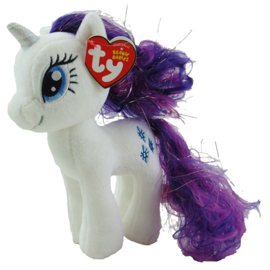 1c70ffdba6f TY Beanie Baby - RARITY (Sparkle Hair Strands - 7 inch) (My Little Pony)   BBToyStore.com - Toys