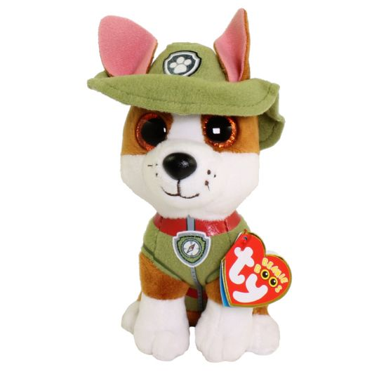 TY Beanie Baby - Paw Patrol - TRACKER (6 inch)  BBToyStore.com - Toys 66c26ffb148