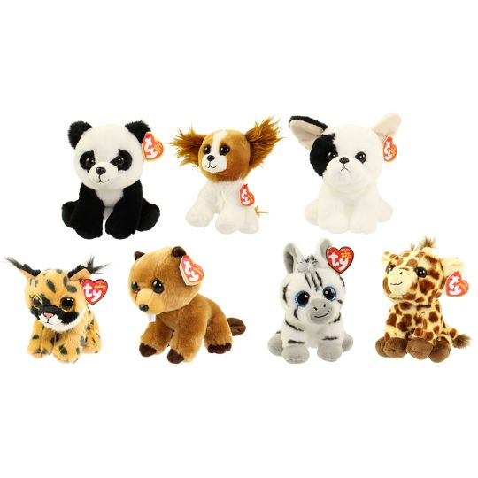ffaddf40860 TY Beanie Babies - SET of 7 JANUARY RELEASES (6 inch)  BBToyStore.com - Toys