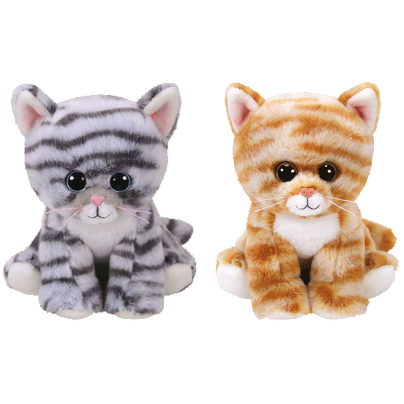 TY Beanie Baby - WINTER 2017 Releases SET of 2 (6 inch) (MILLIE & CLEO)