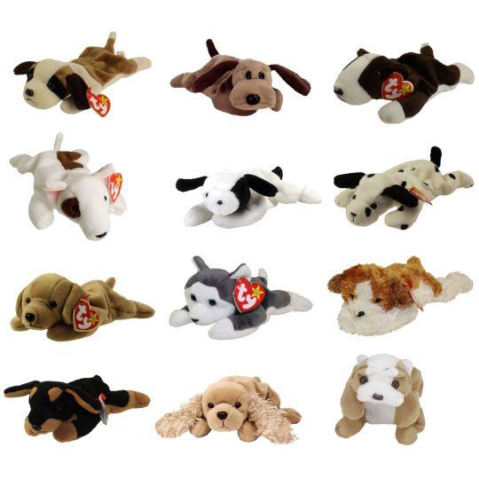 TY Beanie Babies - DOGS  1 (Set of 12)(Bernie 768c2f3d49e