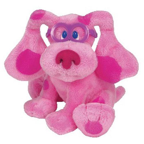 Ty Beanie Baby Magenta The Dog Nick Jr Blue S Clues