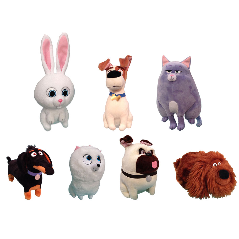 Ty Beanie Buddies Set Of 7 Secret Life Of Pets Medium