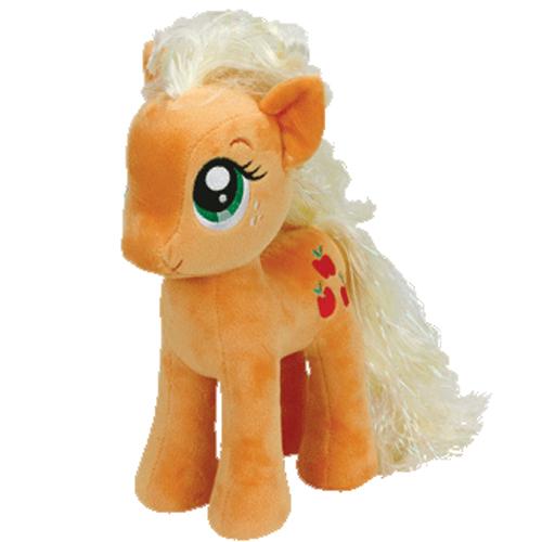 ty beanie buddy - my little pony - applejack  11 inch   bbtoystore com