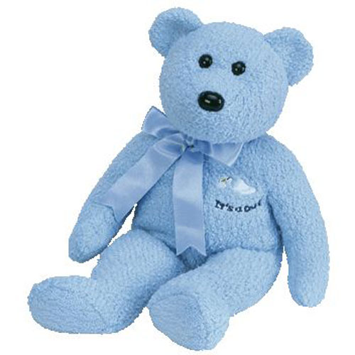 MINT with MINT TAG TY BABY BOY the BEAR BEANIE BABY
