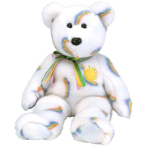 77927cf0c1b TY Beanie Buddy - CHEERY the Sunshine Bear (14 inch)  BBToyStore.com -  Toys