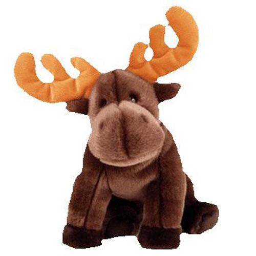 Ty Beanie Buddy Chocolate The Moose 10 Inch Bbtoystore Com