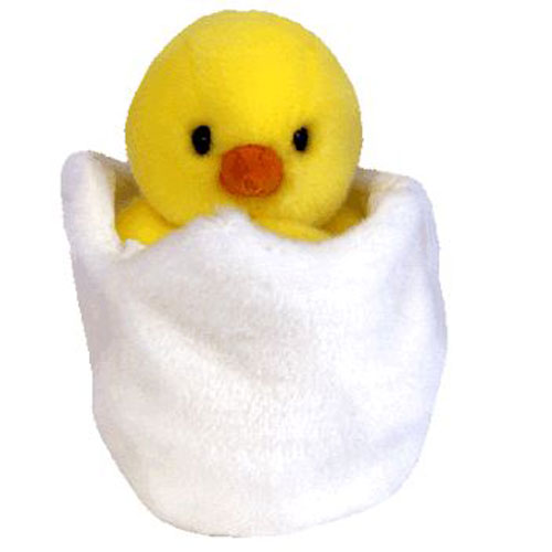 eca083b2ea5 TY Beanie Buddy - EGGBERT the Egg   Chick (9 inch)  BBToyStore.com - Toys