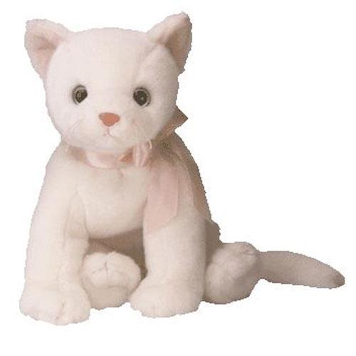 TY Beanie Buddy - FLIP the White Cat (9.5 inch)  BBToyStore.com - Toys 6b0599de3663