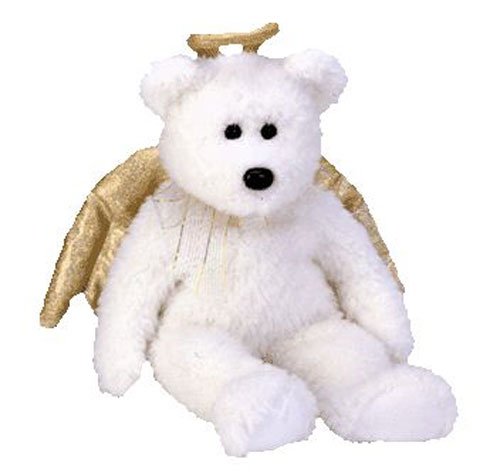 TY Beanie Buddy - HALO 2 the Angel Bear (14 inch)  BBToyStore.com - Toys 91be828db3a
