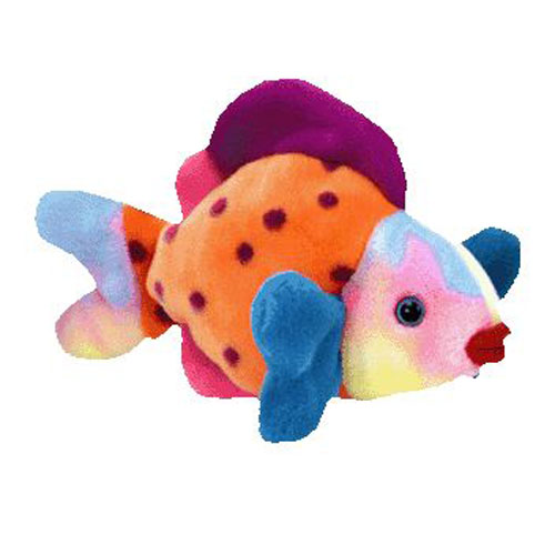 Ty beanie buddy lips the fish 13 inch for Fish beanie baby