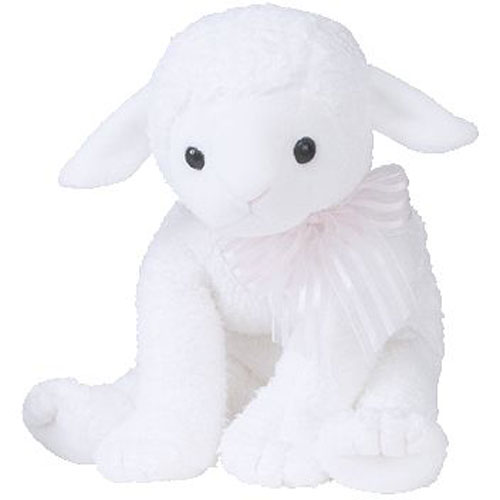 592685a6f7d TY Beanie Buddy - LULLABY the Lamb (12 inch)  BBToyStore.com - Toys ...