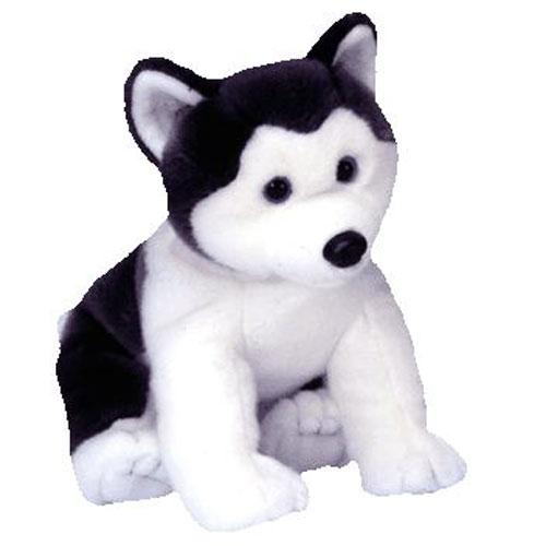 TY Beanie Buddy - NANOOK the Husky Dog (10 inch)  BBToyStore.com - Toys 986ca908fc7