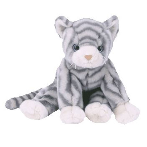 affcdc24a TY Beanie Buddy - SILVER the Cat (11 inch)