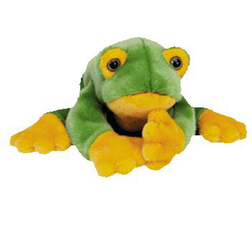 TY Beanie Buddy - SMOOCHY the Frog (15 inch)  BBToyStore.com - Toys ... b0a5ea6f688