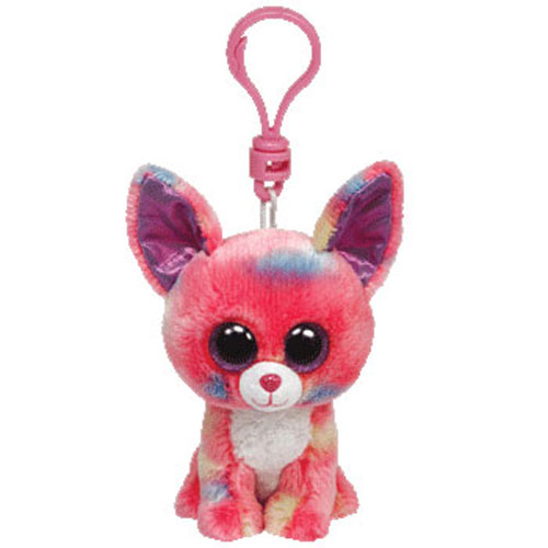 e00d87df7f6 TY Beanie Boos - CANCUN the Chihuahua (Glitter Eyes) (Plastic Key Clip - 3  inch)  BBToyStore.com - Toys