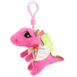 159431aacdd TY Beanie Boos - DARLA the Pink Dragon (Glitter Eyes) (Plastic ...
