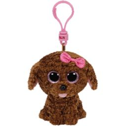 e515f42a4ea TY Beanie Boos - MADDIE the Brown Dog (Glitter Eyes) (Plastic ...