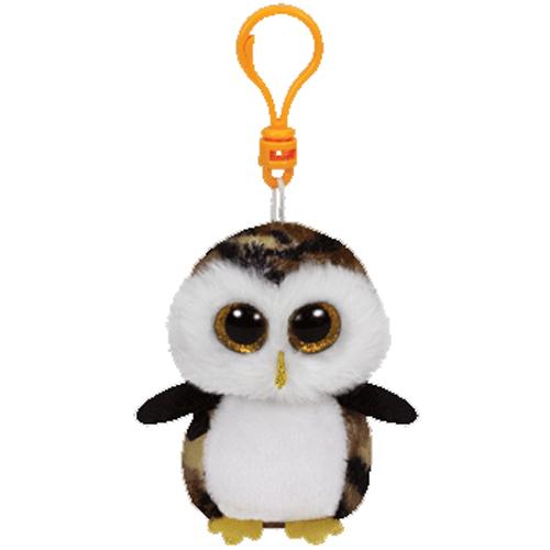 95438915d08 TY Beanie Boos - OWLIVER the Camo Owl (Glitter Eyes) (Plastic Key Clip)   BBToyStore.com - Toys