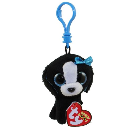 8d24145298e TY Beanie Boos - TRACEY the Black   White Dog (Glitter Eyes ...