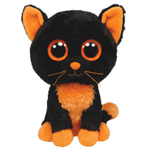 Ty Beanie Boos Moonlight The Black Cat Solid Eye Color