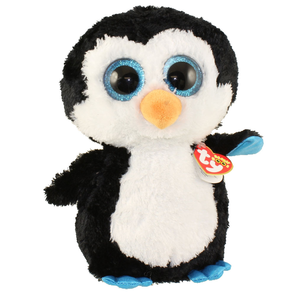 Ty Beanie Boos Waddles The Penguin Large Size 17 Inch