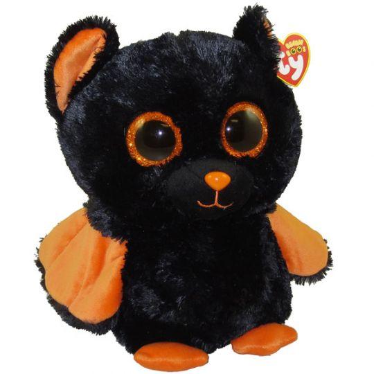TY Beanie Boos - MIDNIGHT the Bat (Glitter Eyes) (Medium Size - 9 inch)   BBToyStore.com - Toys 1640eb1e71aa