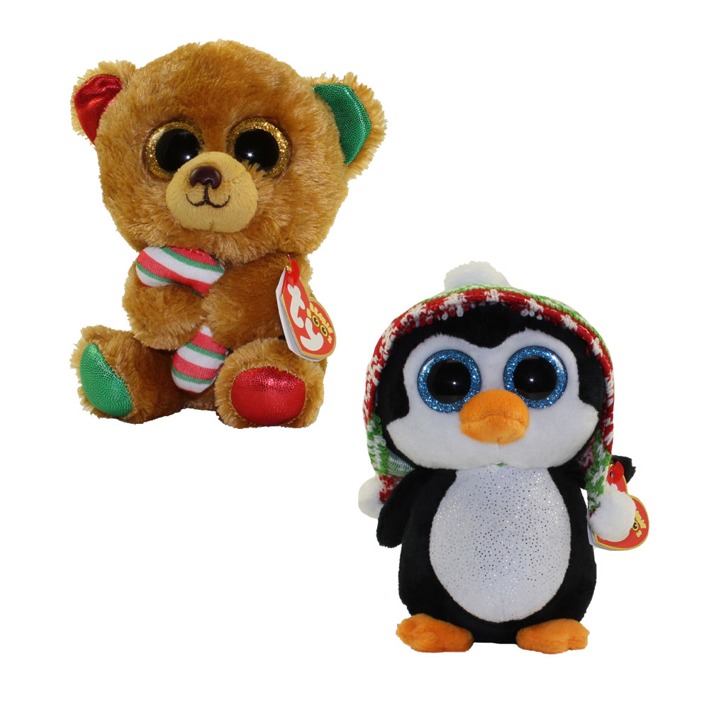 007852fb071 TY Beanie Boos- SET of 2 Christmas 2017 Releases (6 inch) (Bella