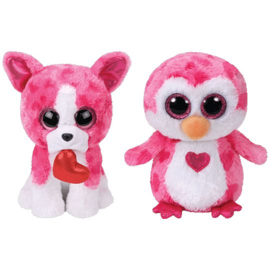 835c2890dc0 TY Beanie Boos - SET of 2 Valentines 2018 Releases (6 inch) (Romeo    Juliet)  BBToyStore.com - Toys