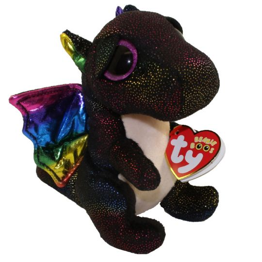 TY Beanie Boos - ANORA the Dragon (Glitter Eyes) (Regular Size - 6 inch)   BBToyStore.com - Toys 75cf4e741ee