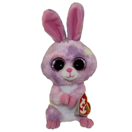 d52983cd752 TY Beanie Boos - AVRIL the Purple Bunny (Glitter Eyes) (Exclusive) (Regular  Size - 6 inch)  BBToyStore.com - Toys