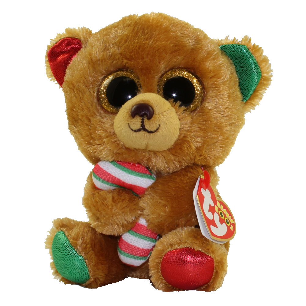 Ty Beanie Boos Bella The Bear Glitter Eyes Regular