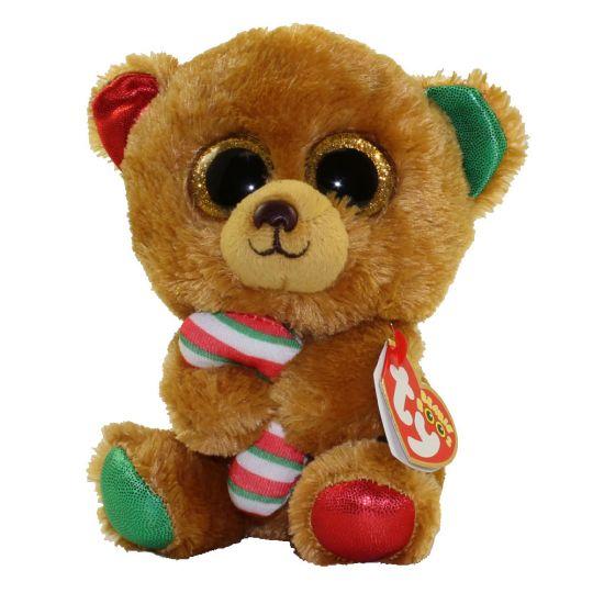 TY Beanie Boos - BELLA the Bear (Glitter Eyes) (Regular Size - 6 inch)   BBToyStore.com - Toys 89556d4c8923