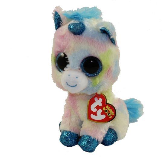 TY Beanie Boos - BLITZ the Unicorn (Glitter Eyes   Feet) (Regular Size - 6  inch)  BBToyStore.com - Toys 1dd3706d361